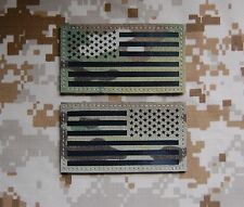 Infrared Multicam IR US Flag Patch Set US Army Special Forces Green Beret CAG
