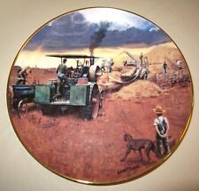 Danbury Mint BEATING THE STORM Farming The Heartland SIGNED Collector Plate J69