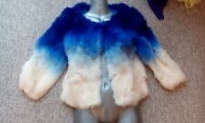 new design 100% real rabbit  fur coat