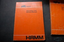 HAMM GRW5 TIRE Roller Compactor Owner Operator Operation Maintenance Manual book