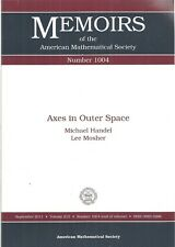 Axes in Outer Space (Memoirs of the American Mathematical Society)