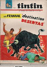 JOURNAL DE TINTIN N°959 - 9 MARS 1967 - AIDANS - DUVAL