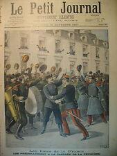 MUSIQUE RUSSE Rgt  PREOBRAJENSKI DOMPTEUR PEZON OBSEQUES LE PETIT JOURNAL 1897
