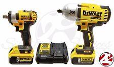 DeWALT DCK398HM2 20V Max Brushless High Torque Impact Wrench DCF899 DCF880 5.0