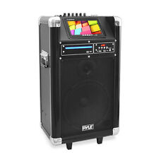 "NEW Pyle PKRK10 Karaoke PA System 7"" Screen  DVD Player 400 Watt"