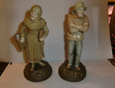 Pair of Early 20th Century Ernst Wahliss Figures