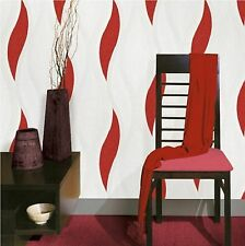 LUXURY RED WAVE in rilievo con texture Carta da parati e62010 da Direct Wallpapers NUOVO!!!