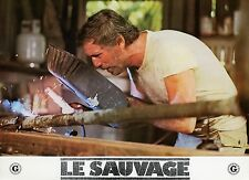 YVES MONTAND LE SAUVAGE 1975 PHOTO ANCIENNE VINTAGE LOBBY CARD N°11