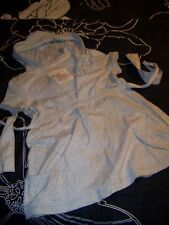 "Hollister Sweat Shirt L Chest 34"" Poem print N Hoodie S/S V neck Ties in back"
