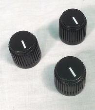 3 x OFFICIAL AMPEG D-Shaft BASS Amp Knobs~ Genuine~ Replacement Ampeg~