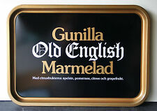 GUNILLA OLD ENGLISH MARMELAD Vintage Advertising tray