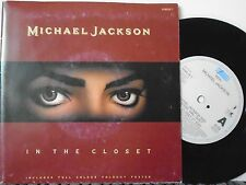 "MICHAEL JACKSON ~ In The Closet ~ 7"" Single POSTER SLEEVE"