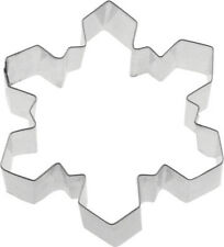 Fox Run Snow Flake Cookie Cutter 3 Inch Shapes Jello Biscuit Mold New