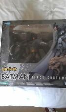 BATMAN BLACK COSTUME ARTFX FIGURE KOTOBUKIYA DC WARNER BROS