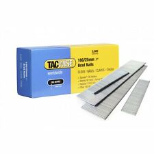 Tacwise 0396 18g 25mm Acier Galvanisé Brad ongles 5000 pour c1832v, dgn50v nouveau