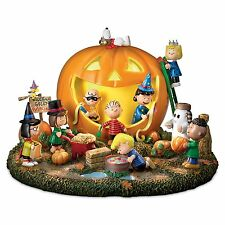 PEANUTS PARTY TIME HALLOWEEN GREAT PUMPKIN SCULPTURE STATUE NEW