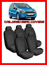 Citroen Berlingo Multispace Xtr Tailored Fundas De Asiento-grey1