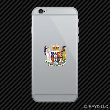 New Zealander Coat of Arms Cell Phone Sticker Mobile New Zealand Kiwi NZK