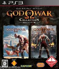 Used PS3 God of War Collection PLAYSTATION 3 JAPAN JAPANESE IMPORT