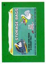 2016 Topps MLB Wacky Packages Grass Border #69 Myrtle Beach Storage Bags