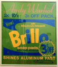 """Andy Warhol    """"Brillo Soap Pads    Poster  1970""""     BA  MAKE OFFER"""