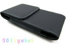 Leather Belt Clip Holster Pouch Case For Samsung Galaxy note i717 I9220 N7000