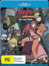 Naruto Shippuden - Movie 4 - The Lost Tower (Blu-ray, 2013) Region B