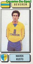 068 MAREK KUSTO POLAND POLSKA SK.BEVEREN STICKER FOOTBALL 1983 PANINI