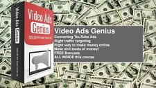 YouTube Ads -How To Get Thousands Of Visitors Daily- 22 Videos on 1CD