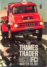 Ford Thames Trader Mk II (FC) - Modern postcard by Vintage Ad Gallery