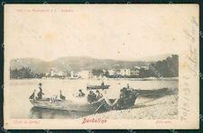 Verona Bardolino Lago di Garda Pescatori cartolina VK0179