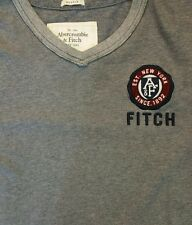 Abercrombie & Fitch Mens Casual Crew Neck Shirt XXL Gray