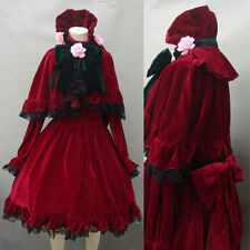 Free shipping Rozen Maiden Reiner Rubin Cosplay Costume deluxe version