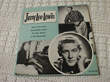 JERRY LEE LEWIS SUN 108 EP  COVER ONLY NO RECORD