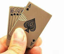 Playing Card Shaped Windproof Cigarette Lighter