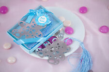 10 pieces of Adorable blue bear bookmark for your baby shower favor