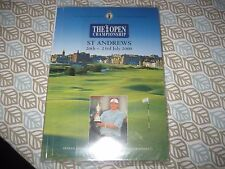 2000 THE BRITISH OPEN GOLF CHAMPIONSHIP Official PROGRAM  ST ANDREWS