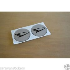 DAIHATSU Motorhome Campervan Wheelcap/Dent Cover Stickers Decals Graphics - PAIR