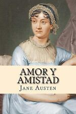 Amor y Amistad by Jane Austen (2014, Paperback)