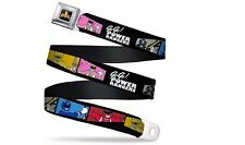 Power Rangers Go Go Team Team Quadrangles Officially Licensed Seatbelt Belt
