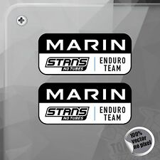 PEGATINA MARIN BIKES STANS NO TUBES ENDURO TEAM VINYL STICKER DECAL AUTOCOLLANT