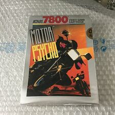 VINTAGE# MOTOR PSYCHO  # ATARI 7800#MOD CX7852  NIB  Pal Version Sealed