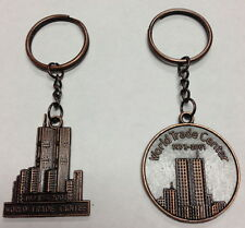 12 PCS WORLD TRADE CENTER 1973-2001 TWIN TOWERS NEW YORK CITY KEY CHAINS 9-11