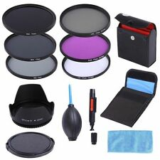 77mm CPL UV FLD ND8 4 2 Filter Kit+Lens Hood+Cap For Nikon Canon Sigma sony Lens