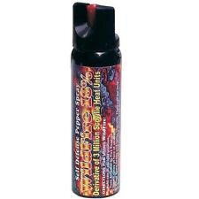 LOT OF (3)- Wildfire 4 oz Ounce 18% OC Pepper Spray STREAM HOTTEST In the Market