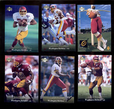 1995 UD Washington Redskins Set HEATH SHULER BRIAN MITCHELL REGGIE ROBY ELLARD