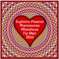 Euphoria Passion aftershave 30ml will help you find a partner -strong Pheromones