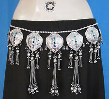 Womens Dress Belt Belly dance Costume Hip scarf Pants Skirt Jewelry Boho Tribal