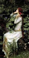 16 x 32 Ophelia John William Waterhouse Mural Ceramic Bath Backsplash Tile #2567