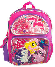 "My Little Pony Small Backpack 12"" Girls Bag Girls Toddler Backpack NEW"